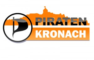 Logo der Kronacher Piraten